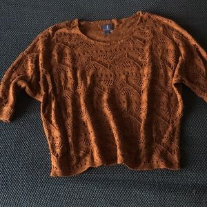 Rust color sweater